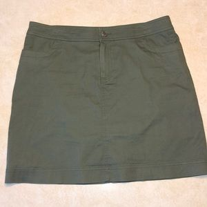 Christopher & Banks Skirt with Built-in shorts